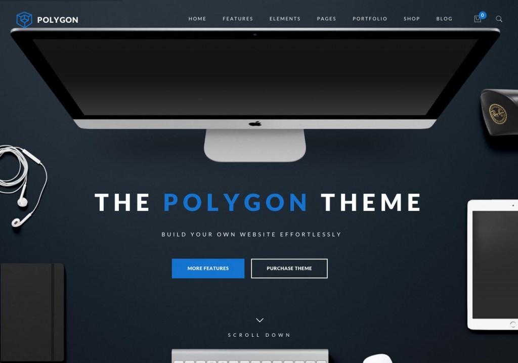 Polygon WordPress Theme