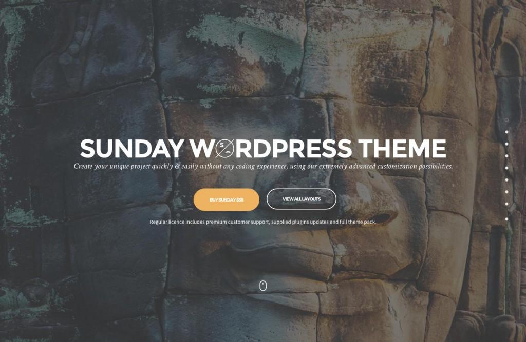 Sunday WordPress Theme