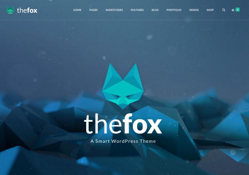 The Fox WordPress Theme