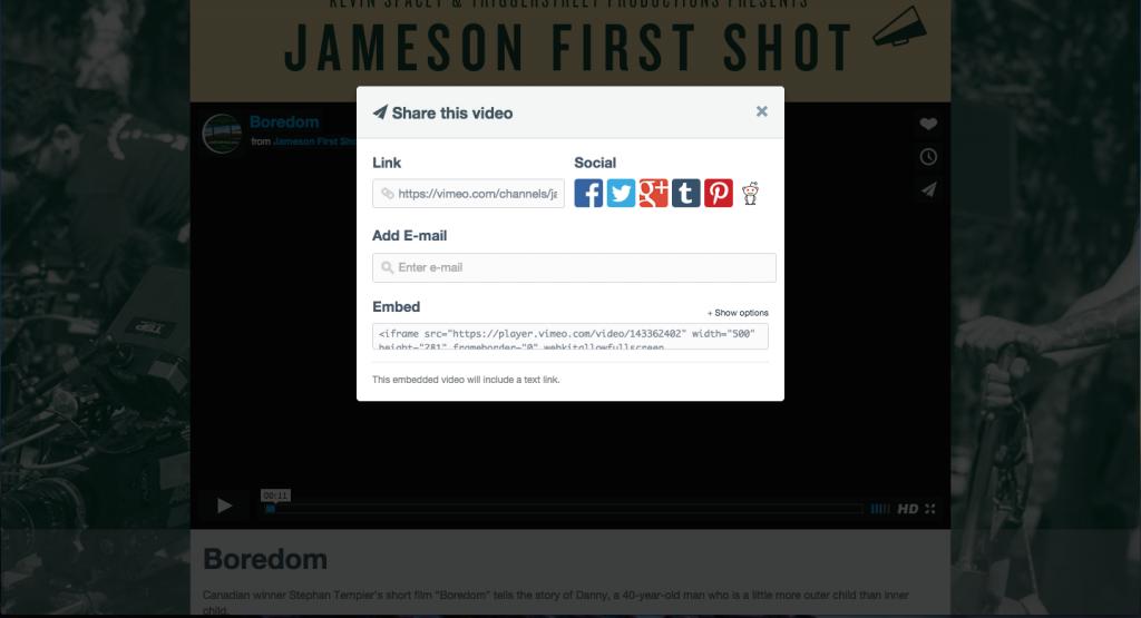vimeo link