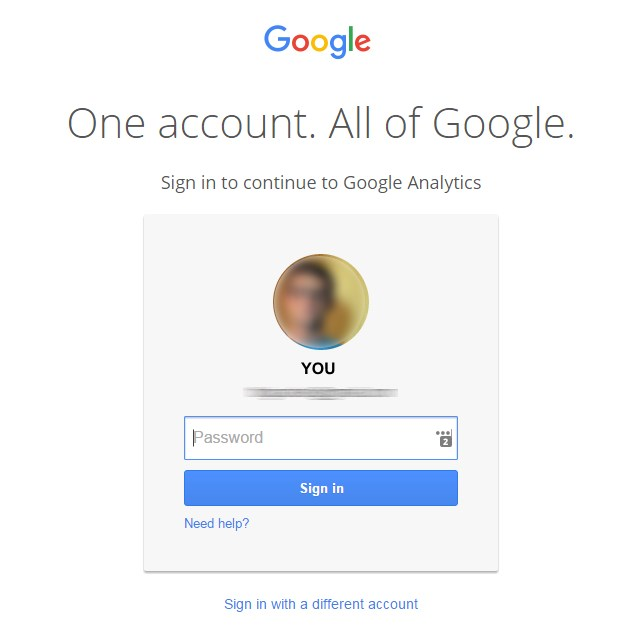Google-Analytics-account