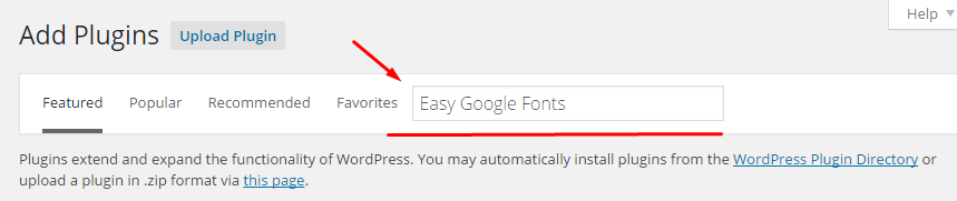 install easy-google-fonts