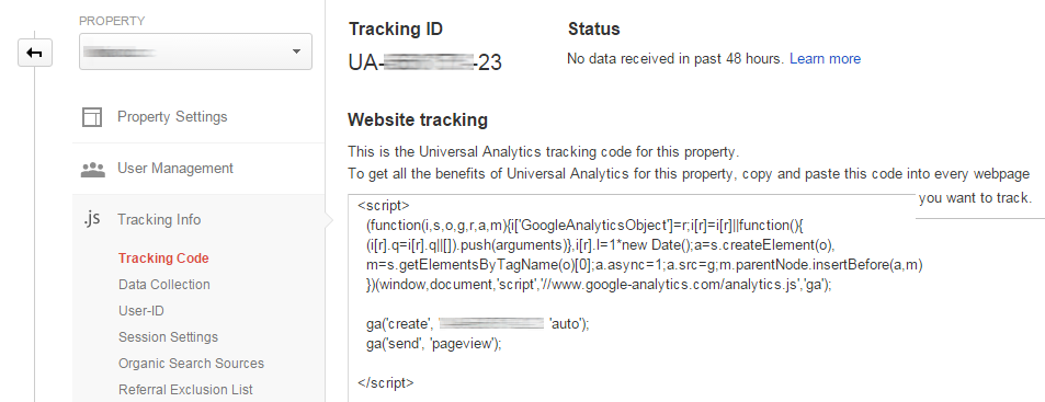 tracking-code