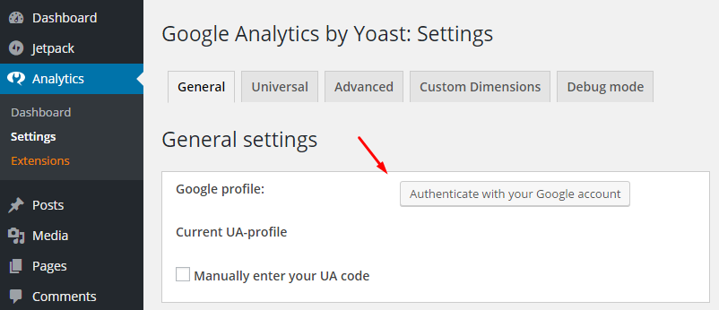 yoast-authenticate