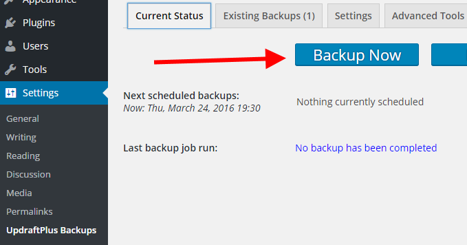 UpdraftPlus-backup