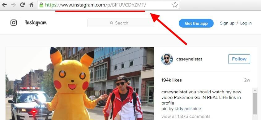 Integrate WordPress With Instagram through Instagram URL