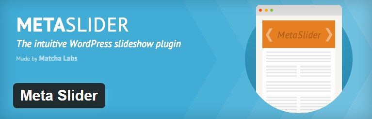 content sliders in WordPress with Meta Slider