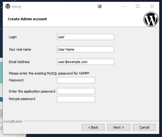 WP user details