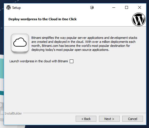 cloud install