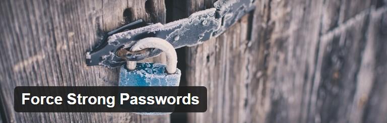 Common WordPress hacks solution: Force Strong Passwords