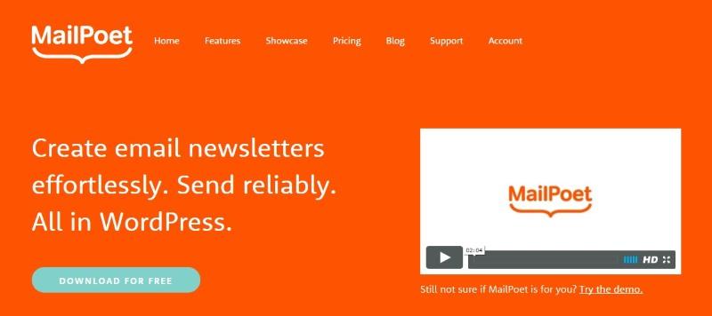 MailChimp alternatives for WordPress:MailPoet