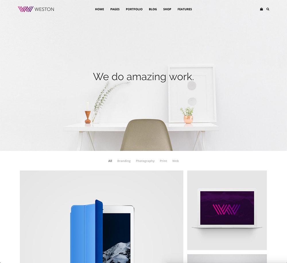 weston-minimal-portfolio