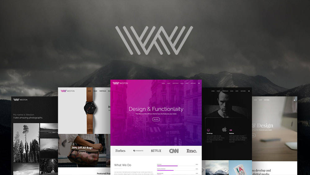 Introducing a New WordPress Theme: Weston