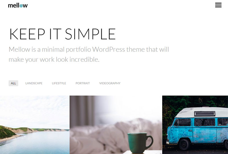 mellow theme wordpress