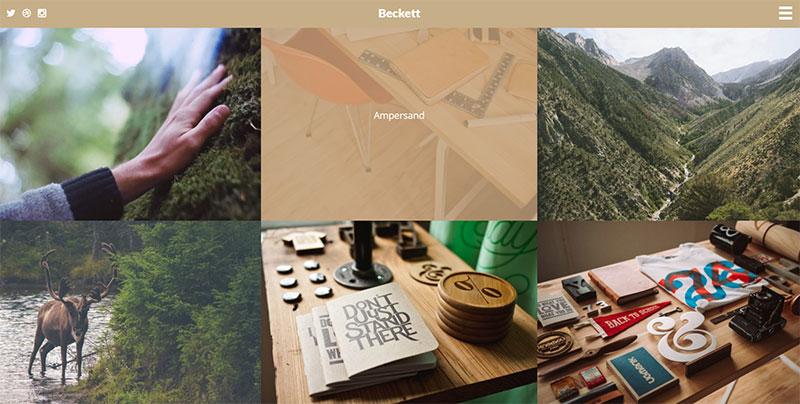 beckett theme