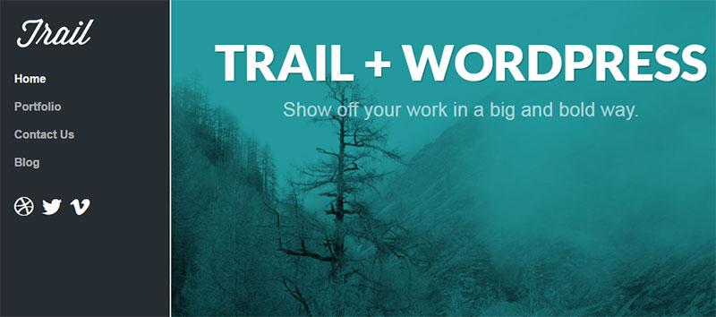 trail theme
