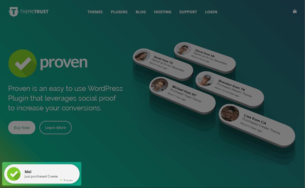 Proven WordPress Plugin
