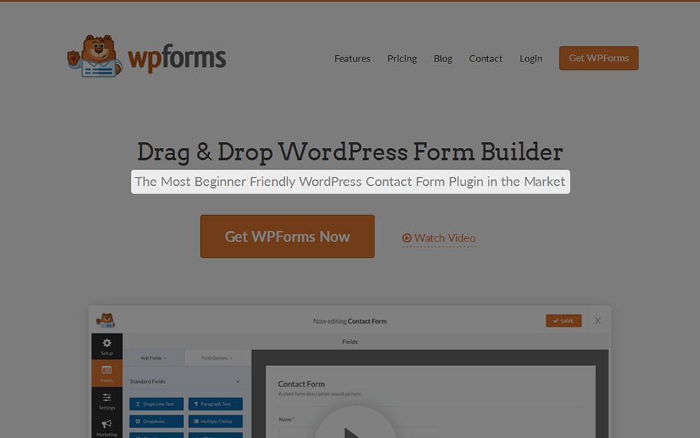 WPForms Subheading