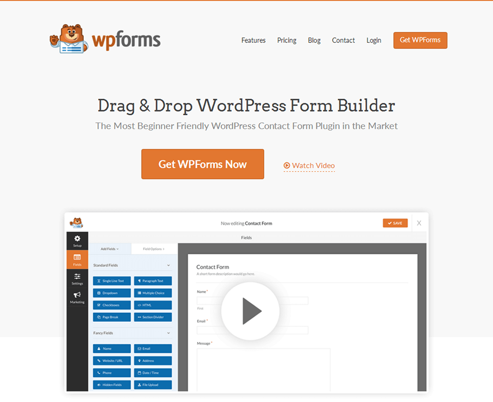 WPForms Review: Trying a WordPress Form Builder | ThemeTrust