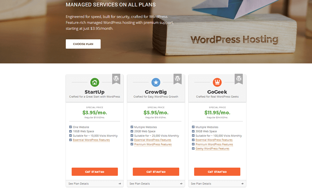 SiteGround - WordPress Hosting