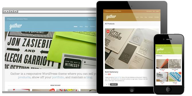 Gather WordPress Theme